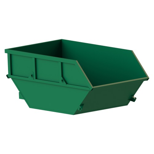 Garbage container for solid waste (8 m3)