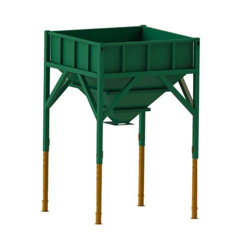 Storage hopper 2.6 m3