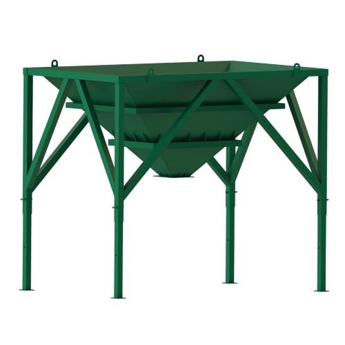 Storage hopper 5.5 m3