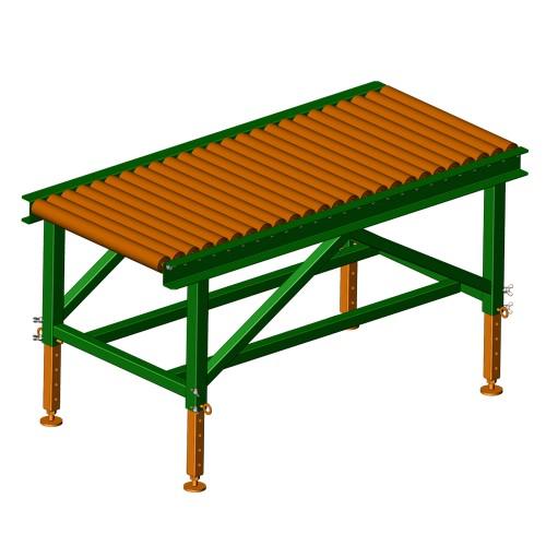 Roller conveyor (non-driven roller conveyor) 1.5m